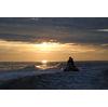 """Solnedgang og """"bananbåt-kjøring"""""""