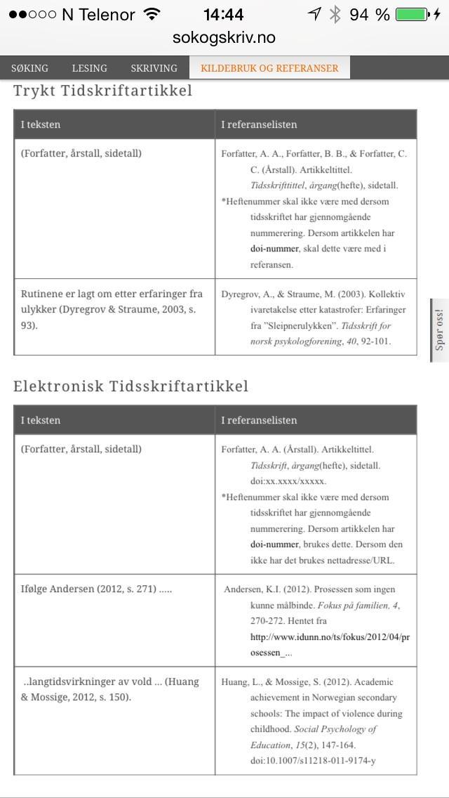 98d42f73cfd Er det NOEN som vet hvordan man henviser/refererer i en tekst til ...