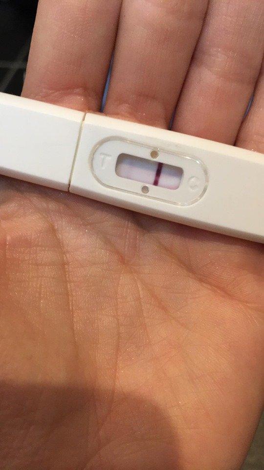Graviditetstest negativ KROKEFFEKT: GRAVIDITETSTEST